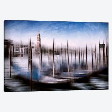 Venice Grand Canal And St Mark's Campanile Canvas Print #MEV133} by Melanie Viola Canvas Art