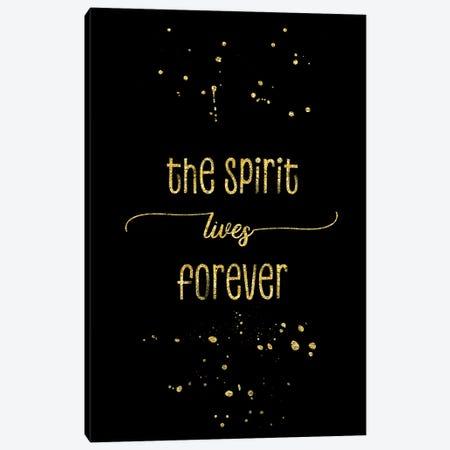 Gold The Spirit Lives Forever 3-Piece Canvas #MEV149} by Melanie Viola Canvas Art Print