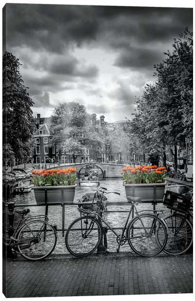 Herengracht Amsterdam Canvas Art Print