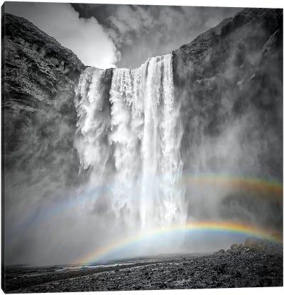 Iceland Skogafoss Canvas Art Print