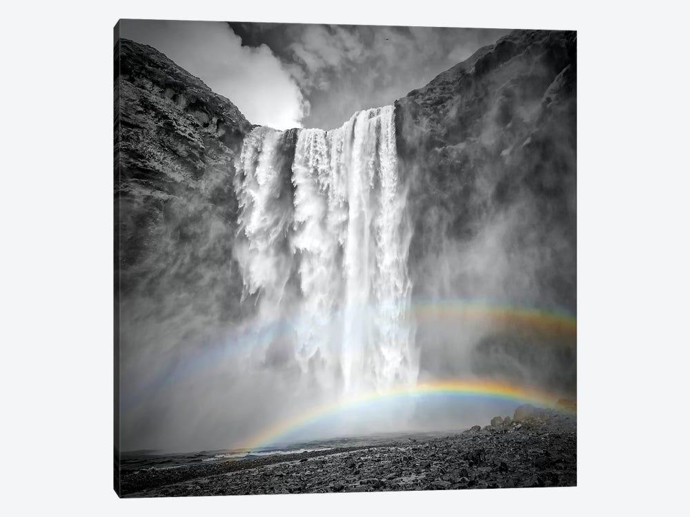 Iceland Skogafoss by Melanie Viola 1-piece Art Print