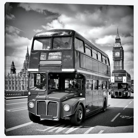 London Classical Streetscene Canvas Print #MEV158} by Melanie Viola Canvas Artwork