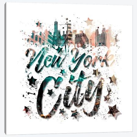 New York City Canvas Print #MEV168} by Melanie Viola Art Print