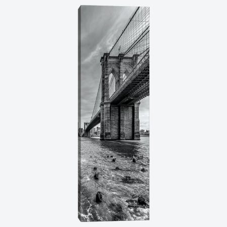 New York City Brooklyn Bridge 3-Piece Canvas #MEV169} by Melanie Viola Canvas Print