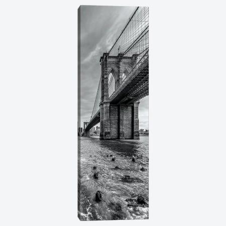 New York City Brooklyn Bridge Canvas Print #MEV169} by Melanie Viola Canvas Print