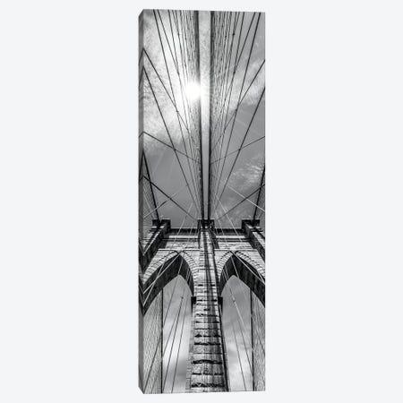 New York City Brooklyn Bridge In Detail Canvas Print #MEV171} by Melanie Viola Canvas Artwork