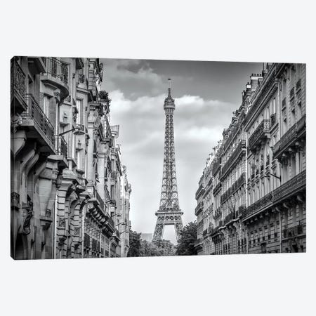 Parisian Flair Canvas Print #MEV178} by Melanie Viola Canvas Wall Art