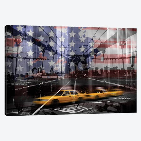 NYC Composing Canvas Print #MEV17} by Melanie Viola Canvas Art