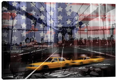 NYC Composing Canvas Art Print