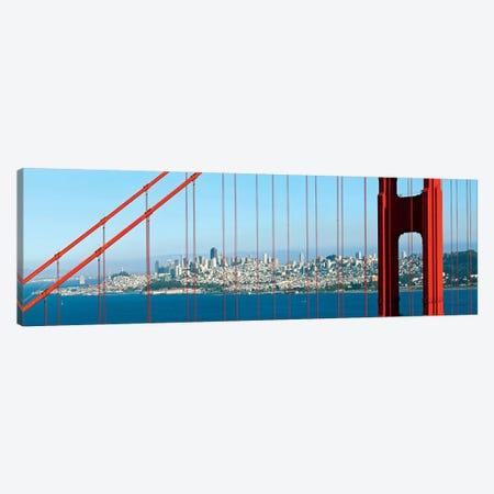 San Francisco Panorama Canvas Print #MEV181} by Melanie Viola Art Print
