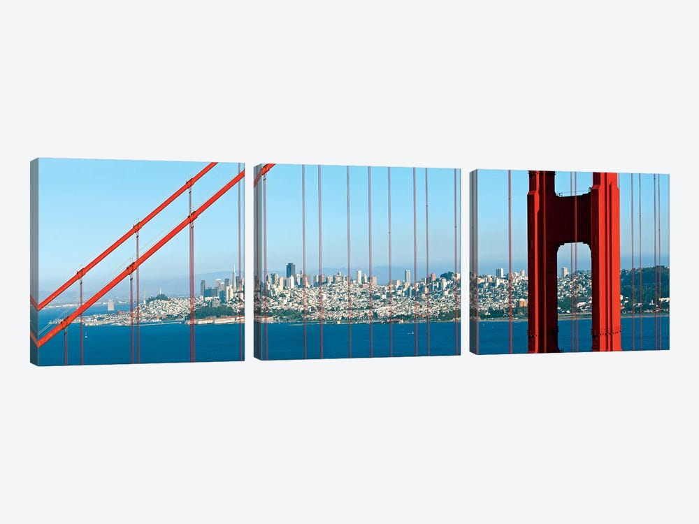 San Francisco Panorama by Melanie Viola 3-piece Canvas Artwork