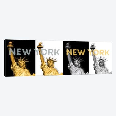 Statue Of Liberty I  3-Piece Canvas #MEV188} by Melanie Viola Art Print