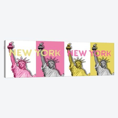 Statue Of Liberty II 3-Piece Canvas #MEV189} by Melanie Viola Art Print