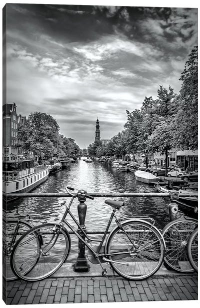 Typical Amsterdam Canvas Art Print