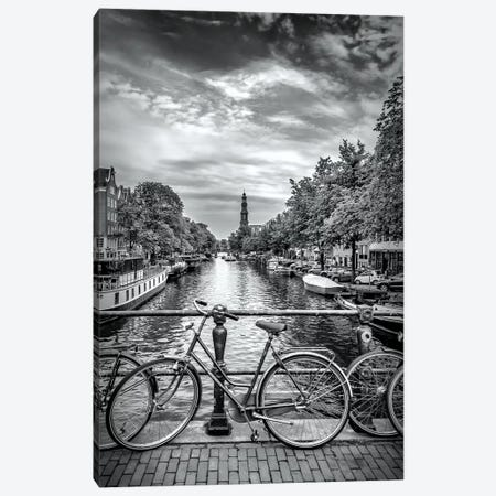 Typical Amsterdam Canvas Print #MEV193} by Melanie Viola Canvas Art