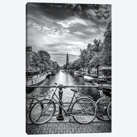 Typical Amsterdam Canvas Print #MEV193} by Melanie Viola Canvas Art
