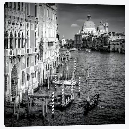 Venice Canal Grande & Santa Maria Della Salute Canvas Print #MEV194} by Melanie Viola Art Print