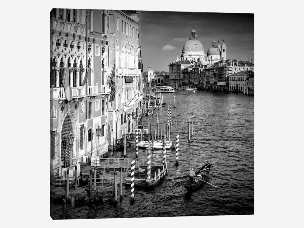 Venice Canal Grande & Santa Maria Della Salute by Melanie Viola 1-piece Canvas Artwork