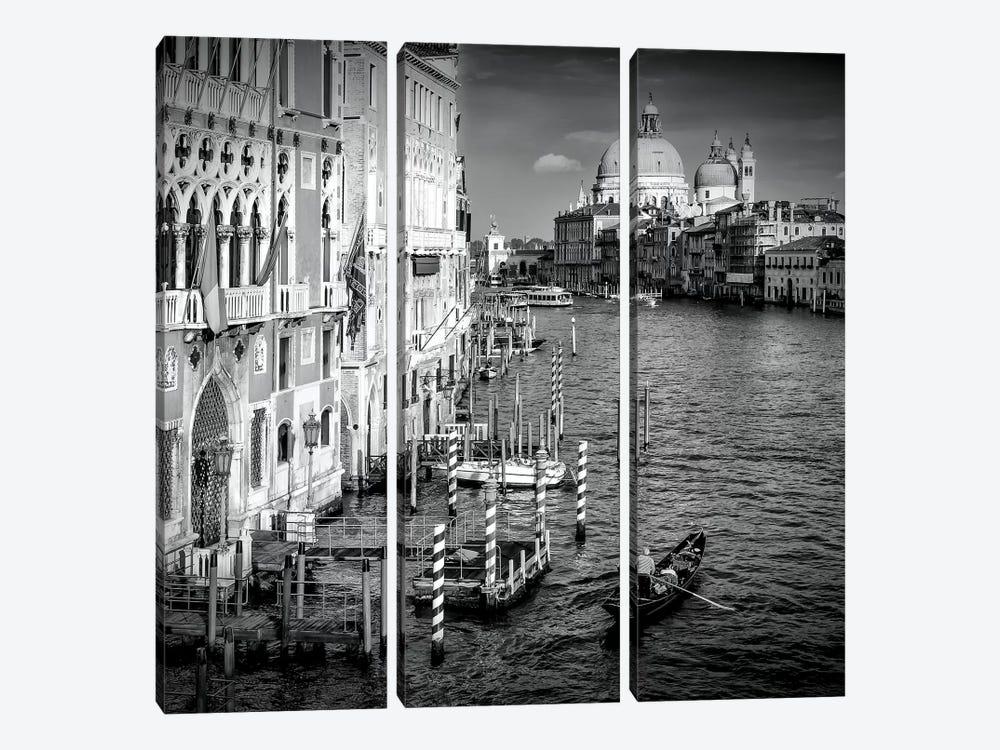 Venice Canal Grande & Santa Maria Della Salute by Melanie Viola 3-piece Canvas Wall Art