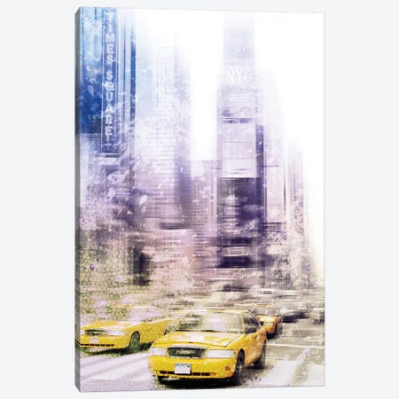 Times Square Canvas Print #MEV19} by Melanie Viola Art Print