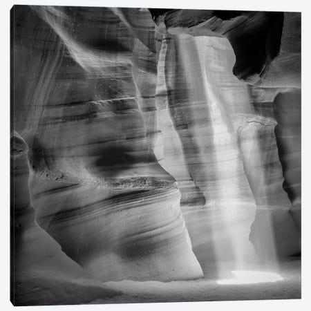 Antelope Canyon Lightbeam Canvas Print #MEV201} by Melanie Viola Canvas Wall Art