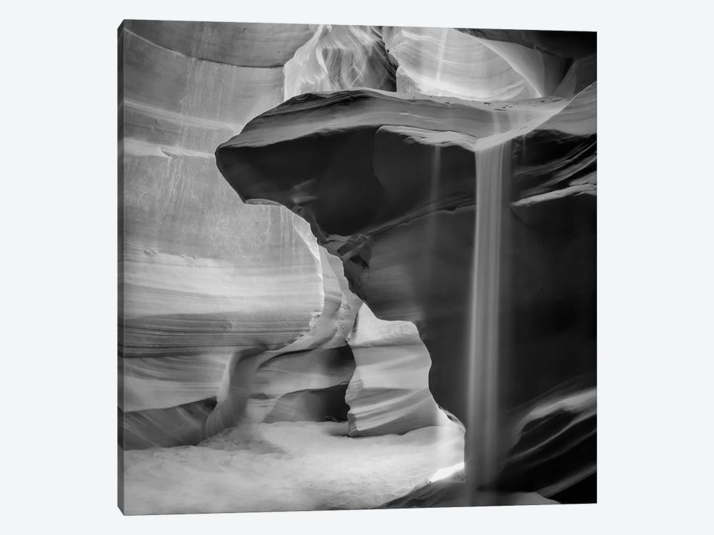 Antelope Canyon Pouring Sand by Melanie Viola 1-piece Canvas Art Print