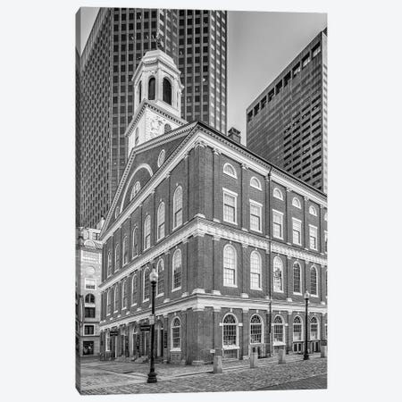 Boston Faneuil Hall Canvas Print #MEV207} by Melanie Viola Canvas Print