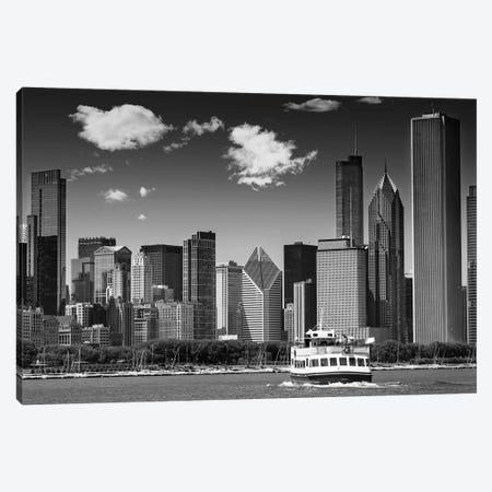 Chicago Skyline Canvas Print #MEV210} by Melanie Viola Canvas Art Print