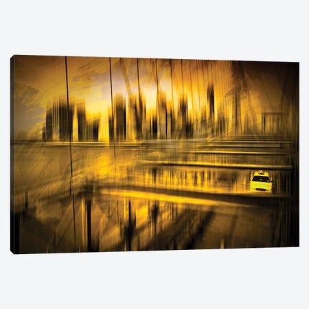 City Shapes NYC Canvas Print #MEV213} by Melanie Viola Art Print