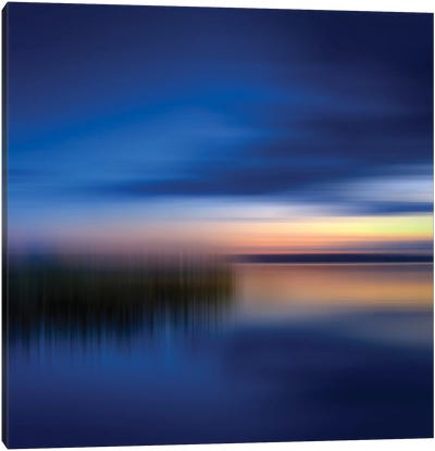 Finland Abstract Evening Mood Canvas Art Print