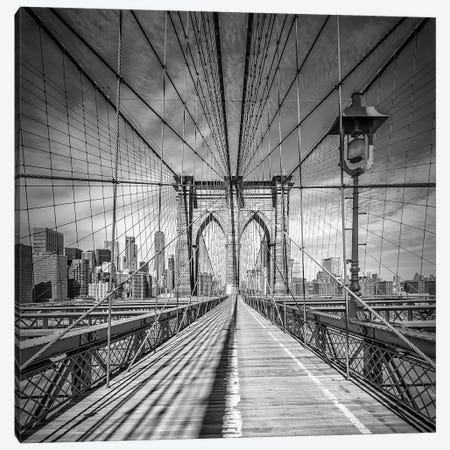 New York City Brooklyn Bridge Canvas Print #MEV230} by Melanie Viola Canvas Print