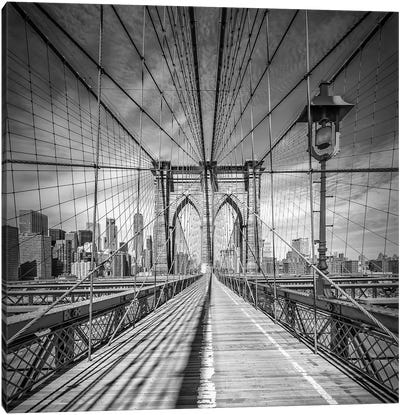New York City Brooklyn Bridge Canvas Art Print