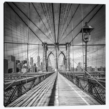 New York City Brooklyn Bridge Canvas Print #MEV230} by Melanie Viola Canvas Print