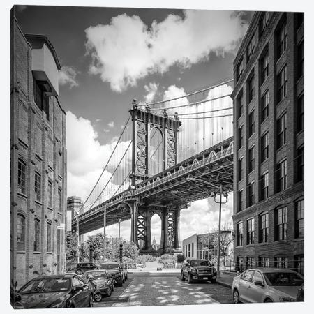 New York City Manhattan Bridge Canvas Print #MEV232} by Melanie Viola Canvas Print