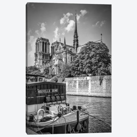 Paris Cathedral Notre-Dame Canvas Print #MEV234} by Melanie Viola Canvas Wall Art