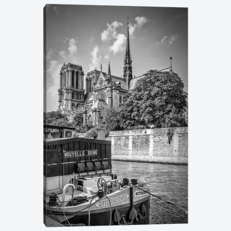 Paris Cathedral Notre-Dame Canvas Print #MEV234} by Melanie Viola Canvas Wall Art