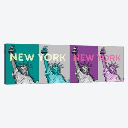 Pop Art Statue Of Liberty IV Canvas Print #MEV236} by Melanie Viola Canvas Artwork