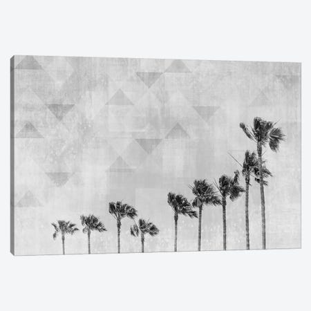 California Vibes In Black & White Canvas Print #MEV252} by Melanie Viola Art Print