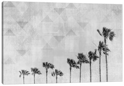 California Vibes In Black & White Canvas Art Print