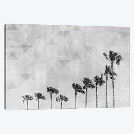 California Vibes In Black & White Canvas Print #MEV252} by Melanie Viola Art Print