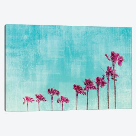 California Vibes In Psychadelic Colors Canvas Print #MEV253} by Melanie Viola Canvas Print