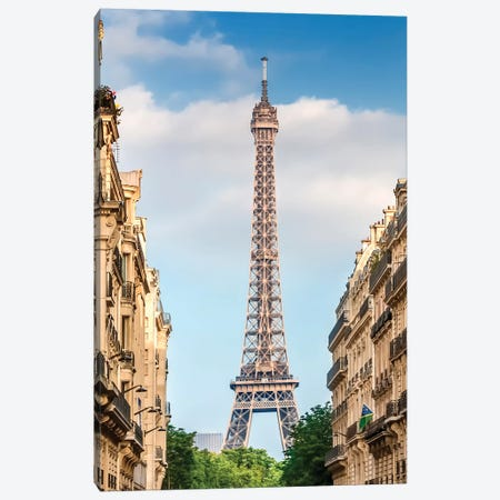 Parisian Flair Canvas Print #MEV279} by Melanie Viola Art Print