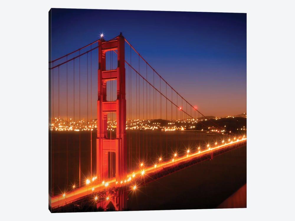 Golden Gate Bridge After Sunset by Melanie Viola 1-piece Canvas Art