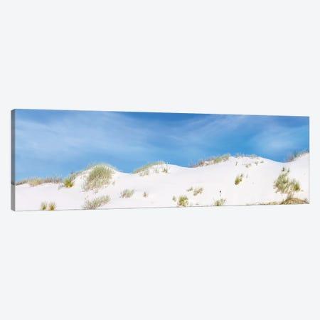 White Sands Gorgeous Panoramic View Canvas Print #MEV343} by Melanie Viola Canvas Art Print