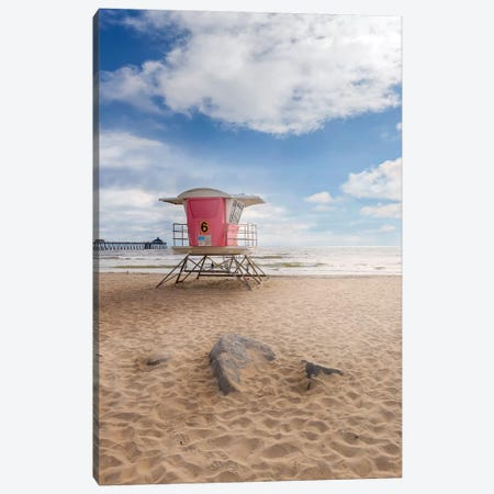 San Diego Imperial Beach Canvas Print #MEV346} by Melanie Viola Canvas Artwork