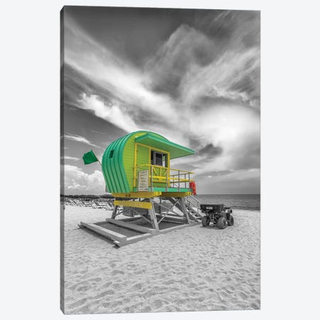 Typical Miami Beach Canvas Print #MEV361} by Melanie Viola Canvas Print