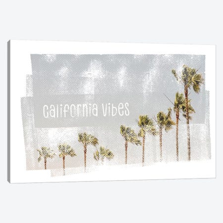 California Vibes | Vintage Canvas Print #MEV370} by Melanie Viola Canvas Art