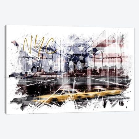 Modern NYC Composing Canvas Print #MEV390} by Melanie Viola Canvas Artwork