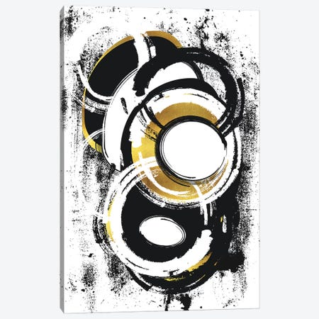 Abstract Painting No. 1 | Gold Canvas Print #MEV410} by Melanie Viola Art Print