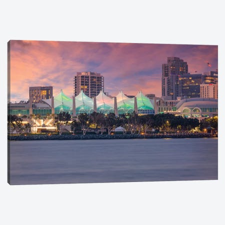 San Diego Sunset Atmosphere Canvas Print #MEV419} by Melanie Viola Canvas Art Print